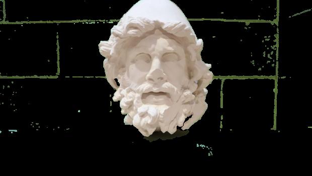 statue head of odysseus