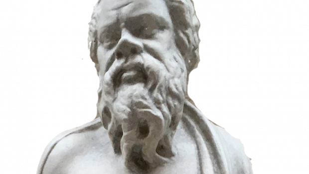 Head of the Statuette of Socrates
