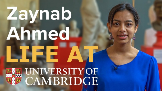 Embedded thumbnail for Student Perspective: Zaynab Ahmed