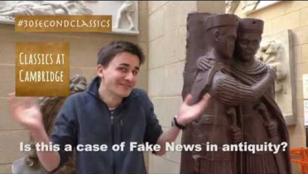 Embedded thumbnail for Fake News in Antiquity?